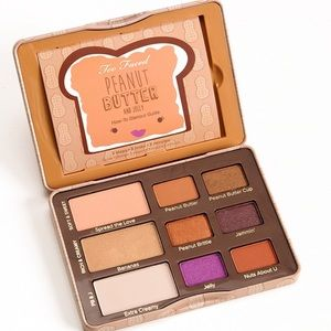 Too Faced peanut butter jelly palette